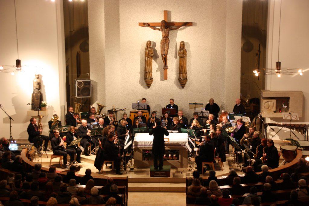 Musikkapelle der Kleinmünchner - Herbstkonzert 2018 - Lux aurumque (Copyright: PRIVAT)